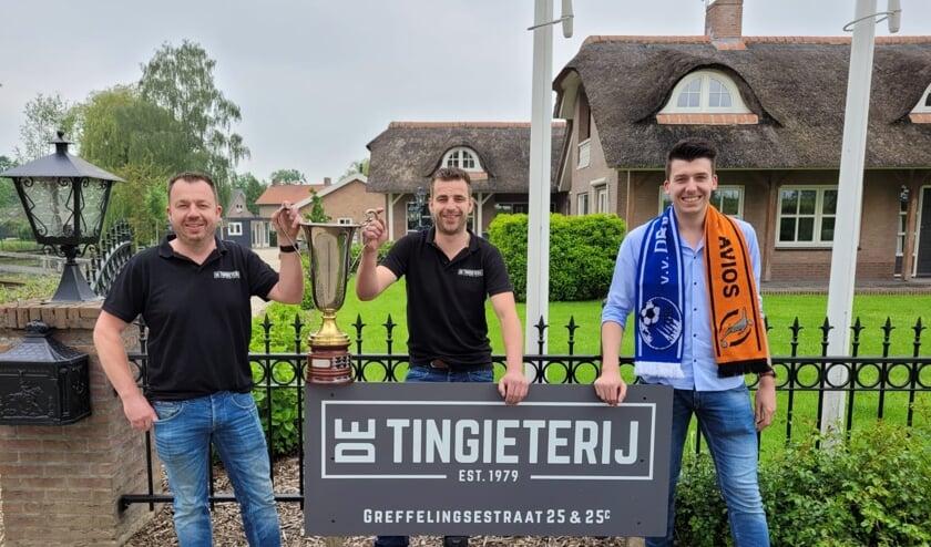 De Tingieterij is de nieuwe sponsor van het Maas en Waalse jeugdvoetbaltoernooi