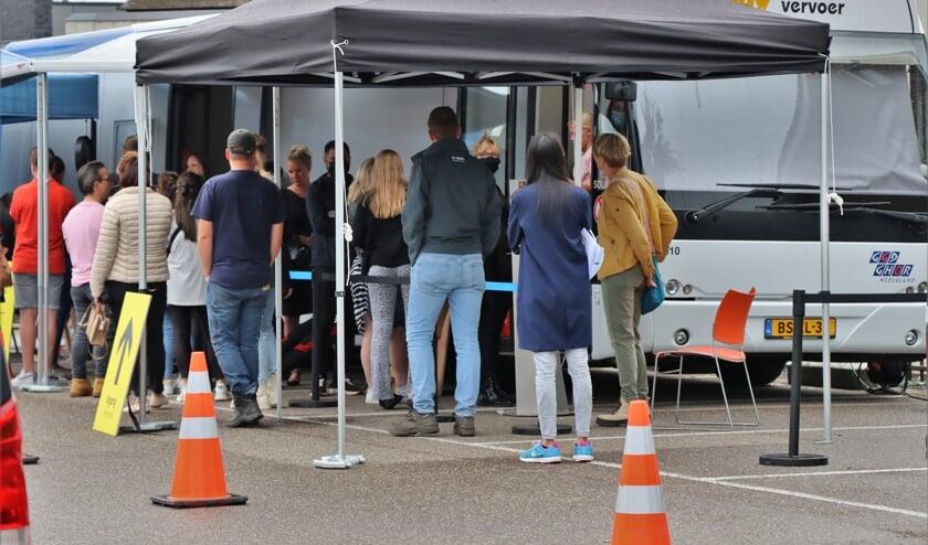 <p>Prikbus dinsdag 14 september in Beneden-Leeuwen</p>