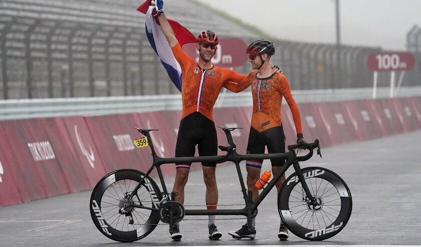 Ter Schure en Fransen nemen gouden revanche op Paralympische Spelen