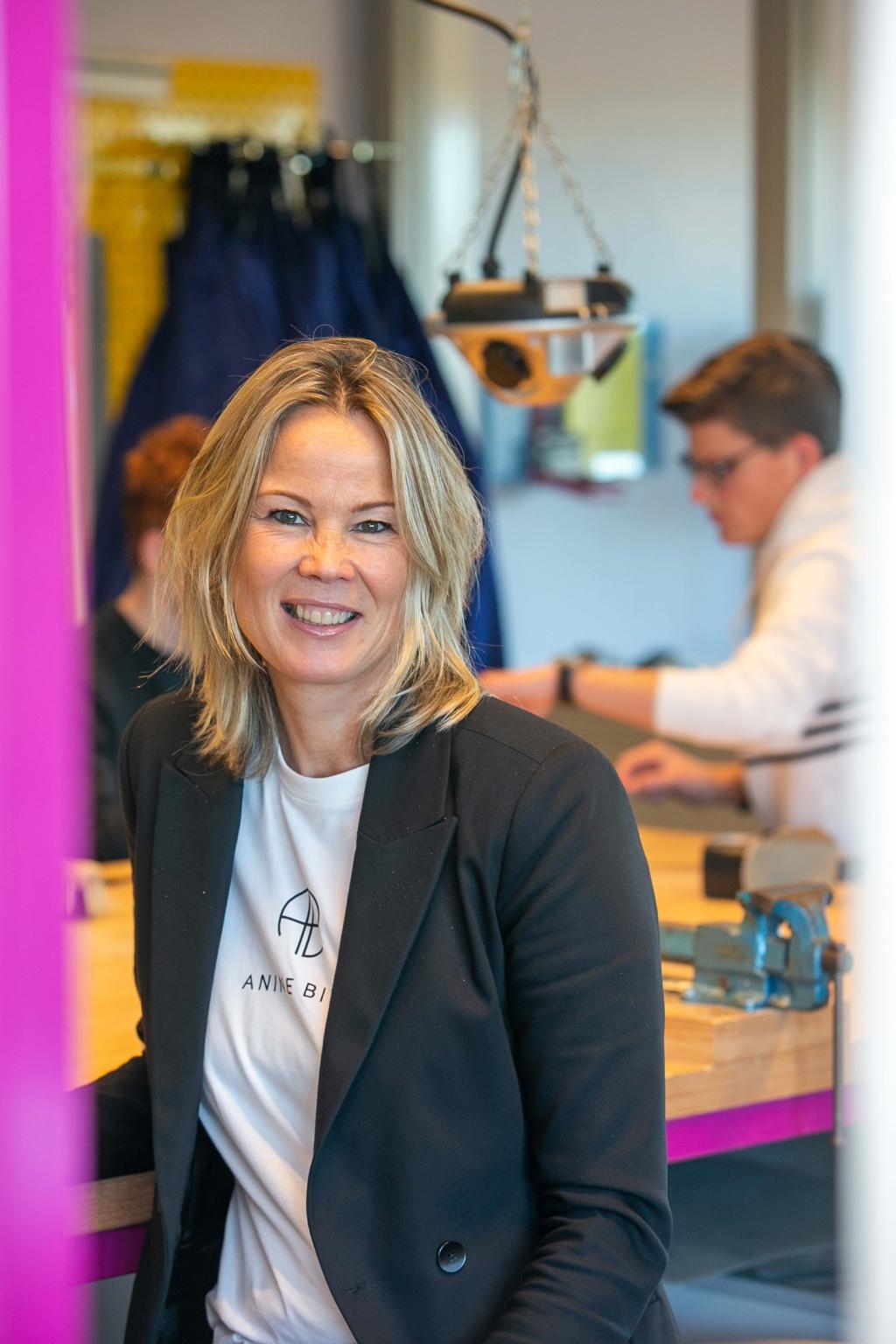 Birgit van Veghel is de nieuwe locatie-directeur van het Zwijsen College. Ad van de Graaf. © mooischijndel