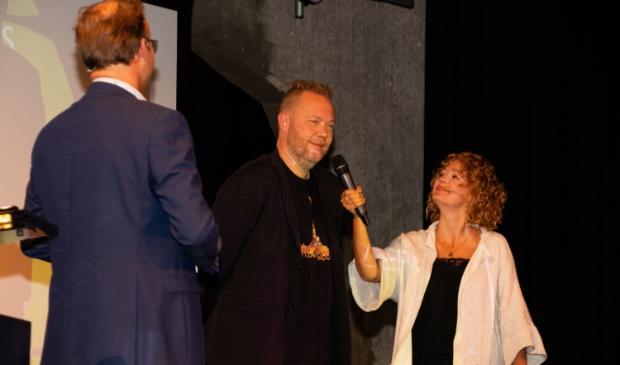 <p>Willem Wouters richt zich tot het publiek</p>