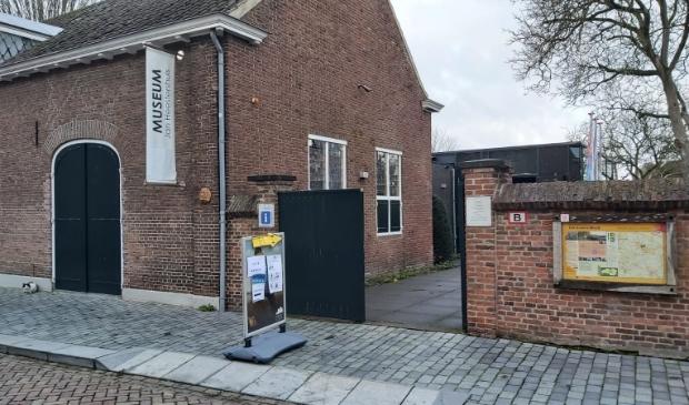<p>De stemlocatie in het museum Jan Heestershuis.</p>