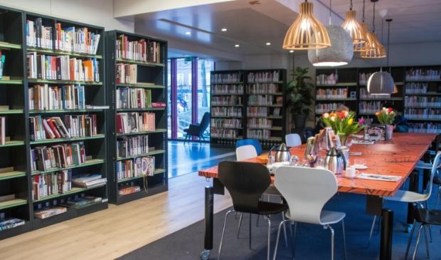 <p>Binnen bij de bibliotheek in Schijndel</p>