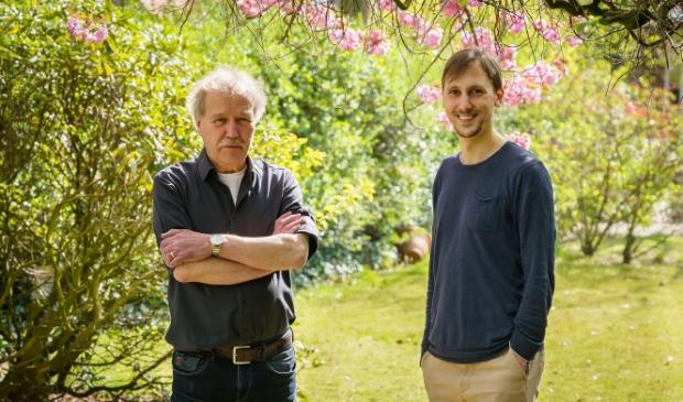 <p>De jury van het Perfecte Plaatje Schijndel. Frans (l) &amp; Tom Keetels</p>