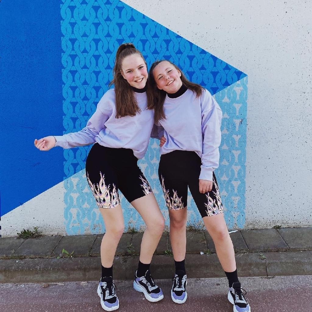 Duo Alyssia & Gwen  © mooischijndel