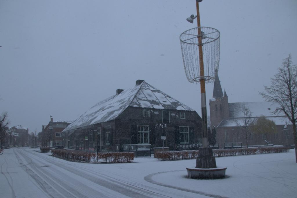 Sneeuw op 7 april 2021 Bas Ulehake © mooischijndel