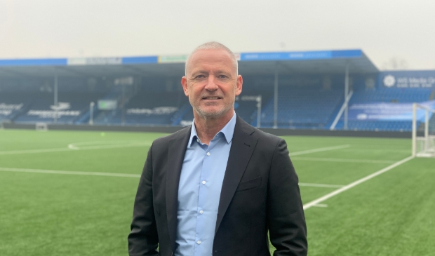 Jack de Gier in het stadion van FC Den Bosch.