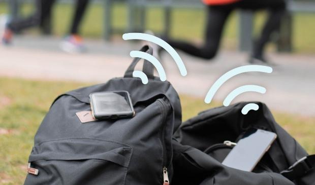 <p>Coronamelder tijdens het sporten</p>