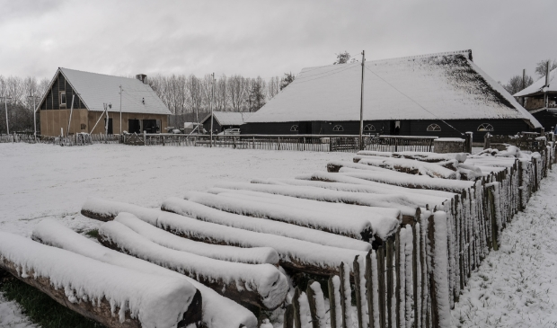 <p>Sneeuw op woensdag 7 april 2021</p>