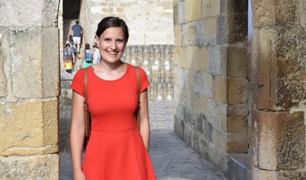 <p>Emma van Kampen studeert in Leiden.</p>