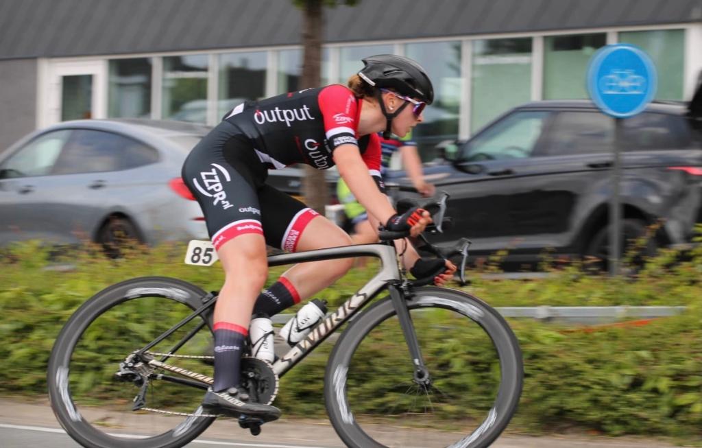 Marith Vanhove in actie in Zedelgem  © mooischijndel