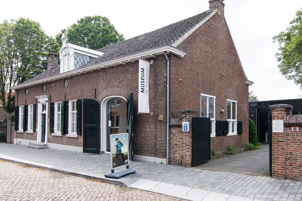 Museum Jan Heestershuis kon eindelijk haar deuren weer openen. <br>Foto: Wiek van Lieshout  Wiek van Lieshout © mooischijndel