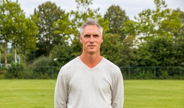 <p>Henry van Wanrooij, hoofdtrainer van RKSV WEC.</p>