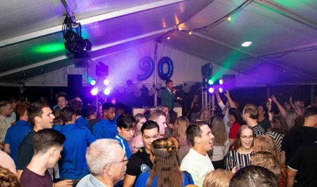 <p>Het was een groot feest in de feesttent bij SV Avanti &#39;31.</p>
