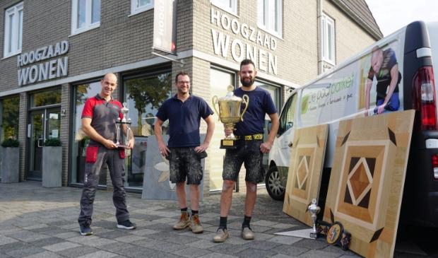v.l.n.r.: Robbie Hoogzaad, Jeroen Brands en Sander Verbruggen.