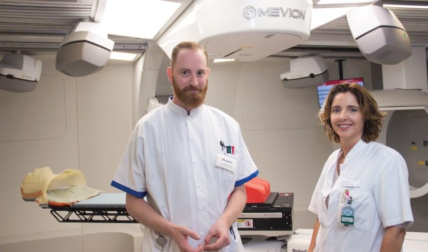 1e neuropatient Daniëlle Eekers en Roel-Germ Wanders