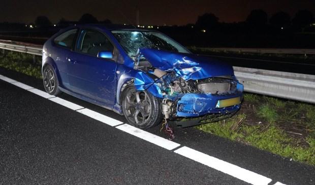 De vrouw kwam bij het ongeval om het leven.  Foto: WdG © grenskoerier