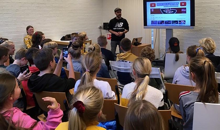 Workshop vloggen met YouTuber Teun Peters, foto: Lieke Janssen