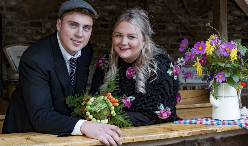 Boer Ben en Boerin Lynn, foto: Jos Meusen