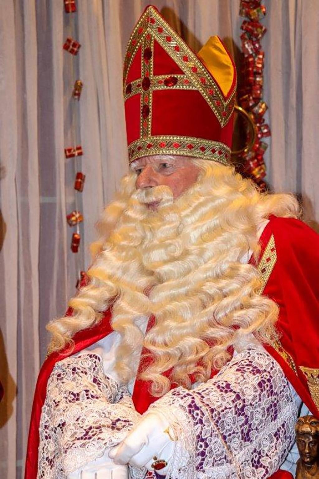 Jen in zijn rol van Sinterklaas  © grenskoerier