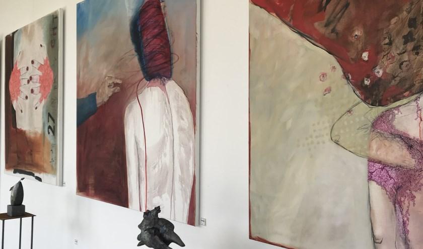 De expositie bij Beeldentemmers, foto: Hester Heijmans
