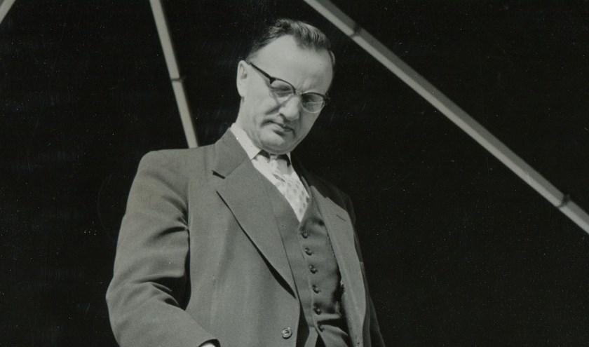 Opening Goorgemaal 1957 door Ir.H.A. van Haaren