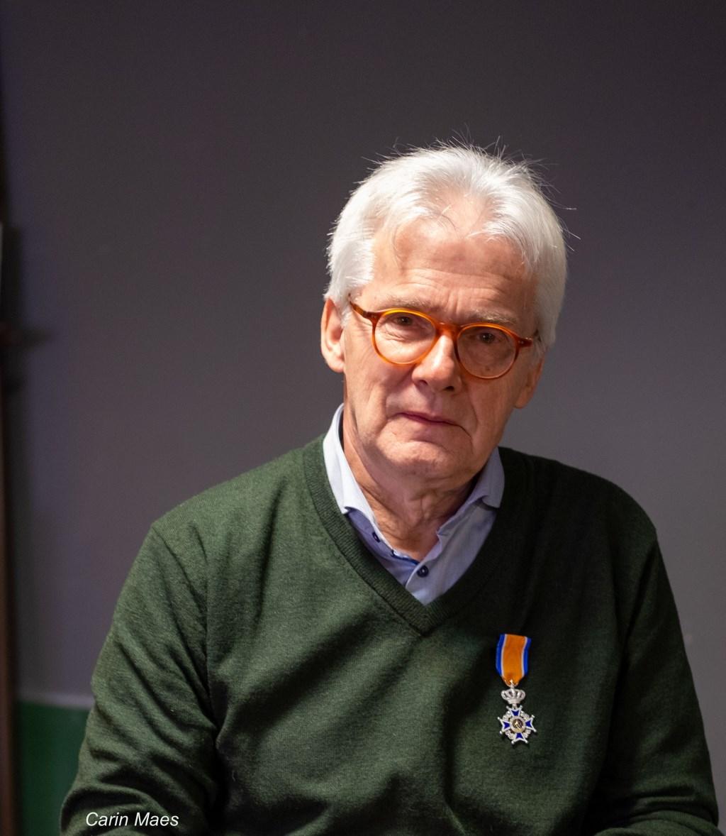 Herman Clevis is lid in de Orde van Oranje-Nassau, foto: Carin Maes Foto: Carin Maes © grenskoerier