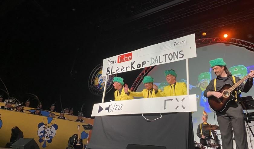 De Buulse Blèèrköp brachten een mix van Buulse muziek en humor