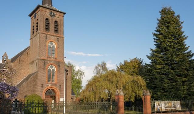De kerk in Soerendonk
