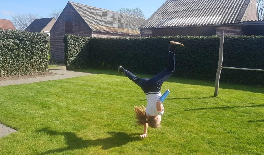 Challenge -maak een acrobatische truc-