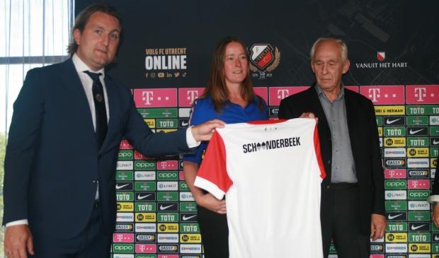 v.l.n.r. Joost Broerse, Miranda Schoonderbeek en Evert Schoonderbeek
