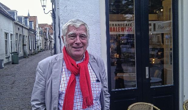 De fractievoorzitter van de Burger Partij Amersfoort (BPA), Hans van Wegen.