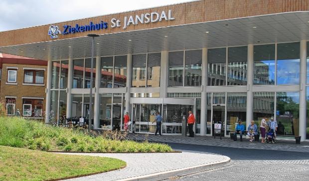 <p>De entree van ziekenhuis Sint Jansdal in Harderwijk.</p>