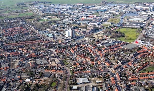 <p>De gemeente Nijkerk is de afgelopen jaren flink uitgebreid en veranderd. Luchtfoto uit 2014.</p>