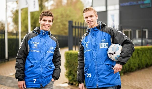 <p>Henk Buijs (rechts)</p>