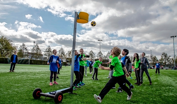 <p>De Koningsspelen in Nieuwland in 2016.</p>