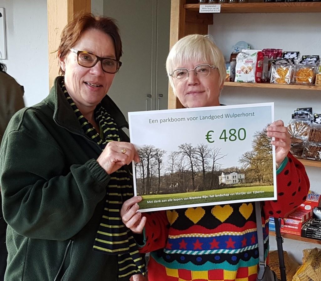 Een cheque voor het Utrechts Landschap Foto: Nanda Geertsma © BDU Media