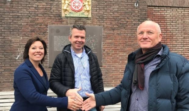 Ilonne Bongers, Robert Frijlink en Tom Kool hebben de laatste maanden nauw samengewerkt om Wageningen op de kaart te zetten.