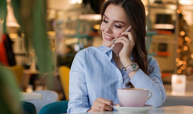 Telefoneren tegen eenzaamheid