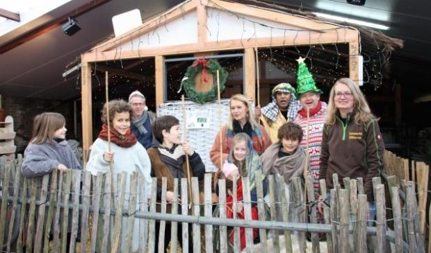 Vrijdagmorgen 22 december, is de levende kerststal nog een keer te bewonderen met naast de dieren ook Maria, Josef, en de herdertjes en kindeke Jezus in de kribbe.