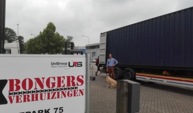 Jaap Bongers is eigenaar van Bongers Verhuizingen.