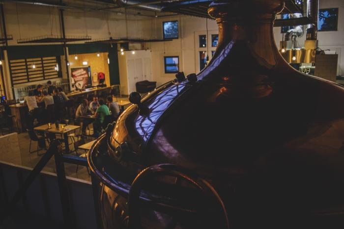 Restaurant naast brouwerij Rock City Brewing © BDU