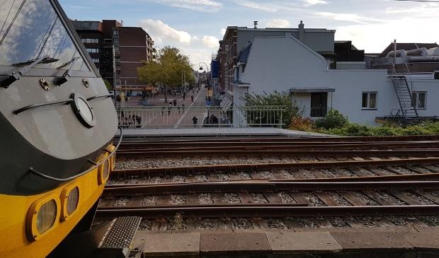 Aansluiting fiets en trein