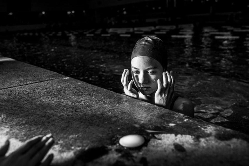 De foto waarmee Carla Kogelman genomineerd is: 'Benthe'.
