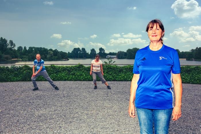 Wandelaars in de regio Haarlemmermeer