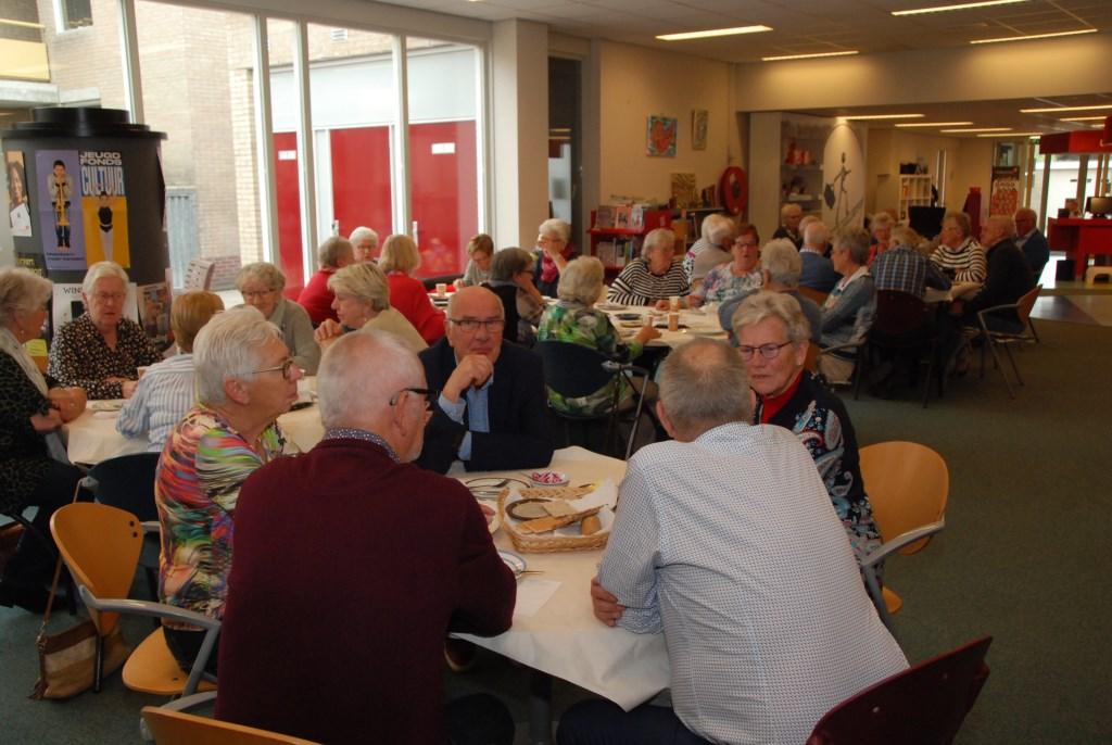 Lunch voor vrijwilligers SWO. Adriaan Hosang © BDU media