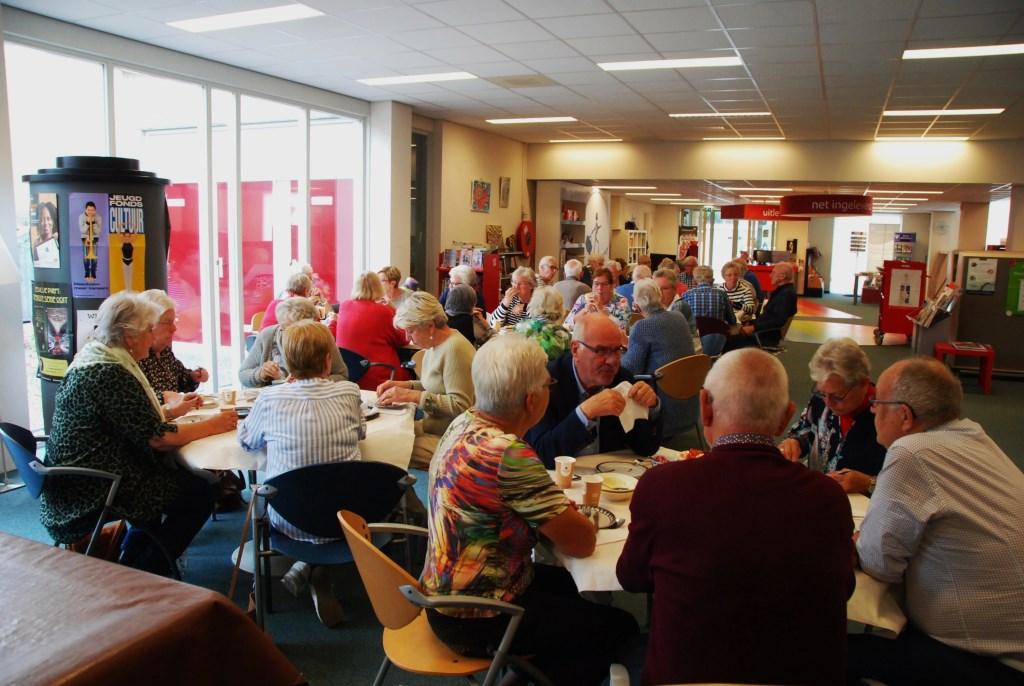 Lunch als dank voor vrijwilligers van de SWO.