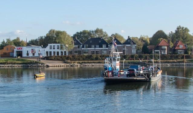 De pont tussen Schalkwijk en Culemborg