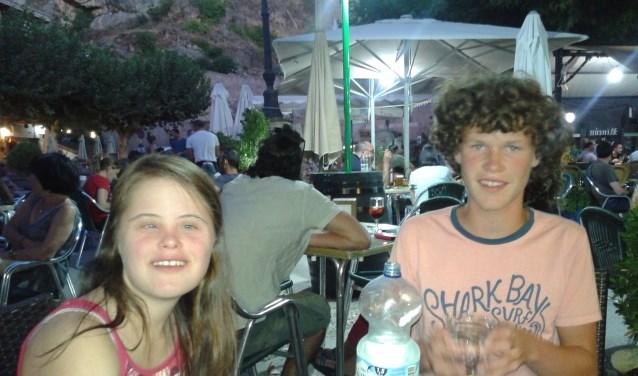 Julia en Louis