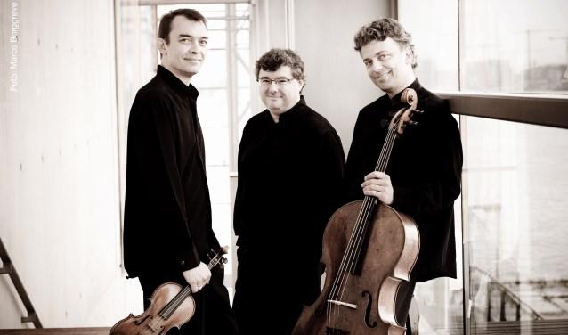 Het wereldberoemde Trio Wanderer speelt op zaterdag 3 november pianotrio's van Schumann en Fauré in de Edesche Concertzaal.
